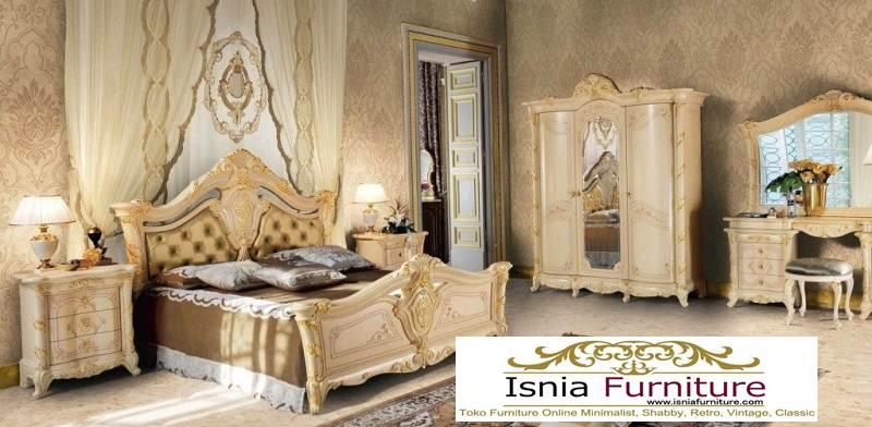set-kamar-mewah-warna-putih Set Kamar Mewah Elegan White Colour  Untuk Kamar Utama