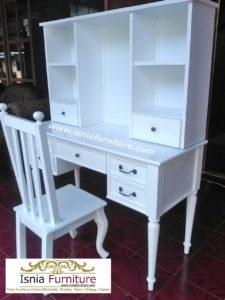 set-meja-belajar-duco-putih-minimalis-dengan-rak-buku-225x300 Jual Set Meja Belajar Anak Duco Putih Minimalis Dengan Rak Buku