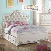 Tempat Tidur Sorong Mojokerto Untuk Anak White Duco
