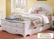 Jual Tempat Tidur Laci Bawah Minimalis Modern White