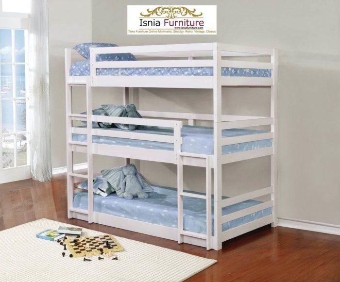 tempat-tidur-anak-3-tingkat-700x581 Jual Tempat Tidur 3 Tingkat Minimalis Kayu Jati Harga Murah