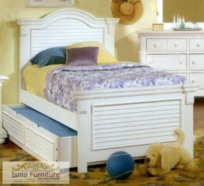 Tempat Tidur Sorong Minimalis Modern Untuk Anak