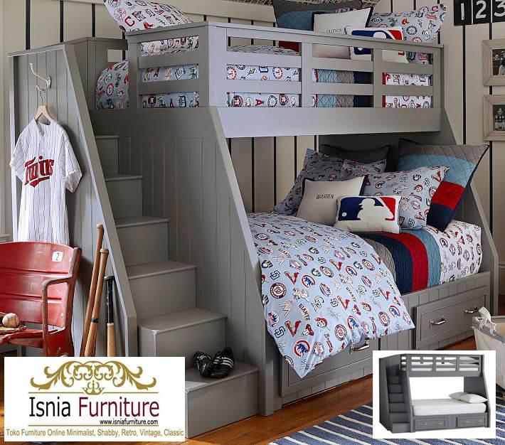 harga-tempat-tidur-tingkat-kayu Jual Tempat Tidur Tingkat Kayu Bandung Minimalis Harga Murah