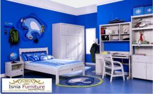 Set Kamar Tidur Minimalis Anak Remaja Laki-Laki Modern