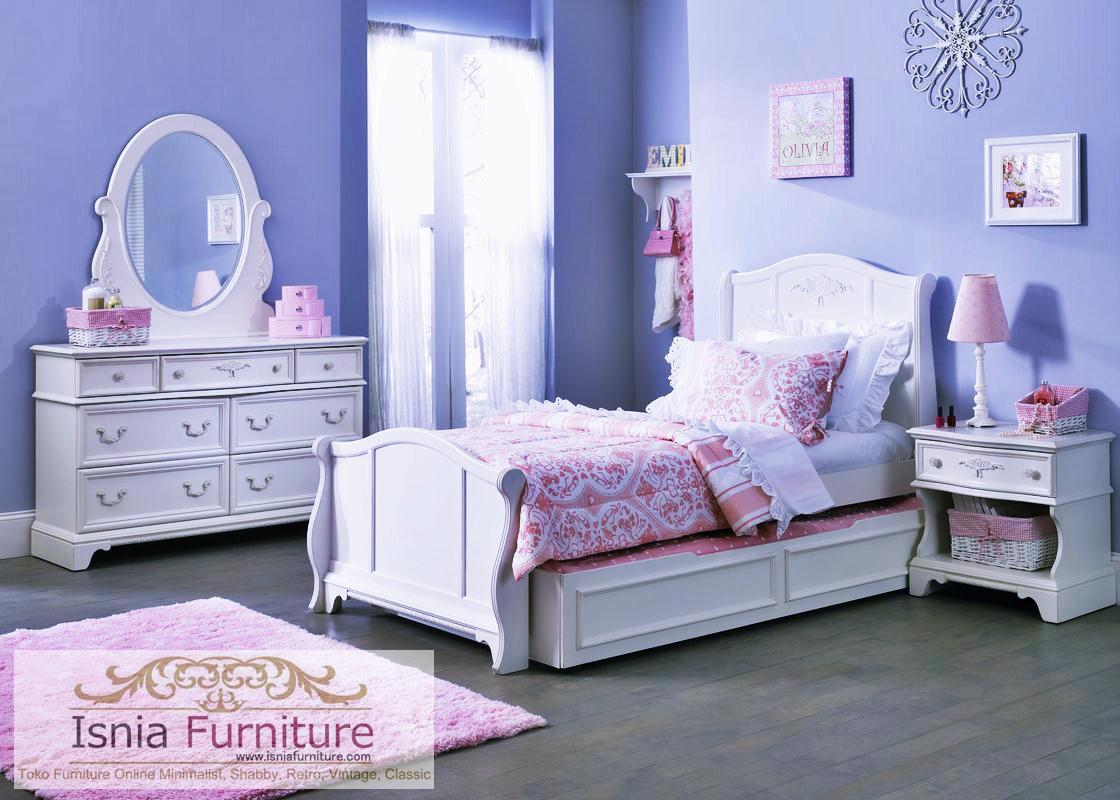 tempat-tidur-anak-sorong-duco-mewah Jual Tempat Tidur Anak Sorong Duco Mewah Warna Putih
