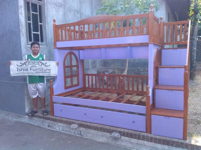 tempat-tidur-anak-tingkat-murah-700x524 Tempat Tidur Tingkat Anak Perempuan Minimalis Jati Terbaru