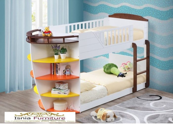 tempat-tidur-tingkat-ank-laki-laki-model-kapal-700x502 79 Model Ranjang Tempat Tidur Tingkat Kayu Minimalis Harga Murah