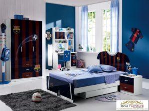 Set Kamar Tidur Anak Laki-laki Karakter Modern Minimalis
