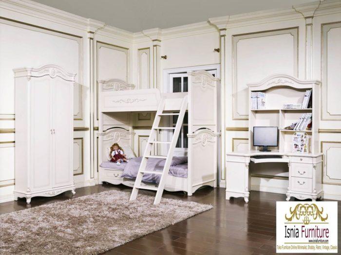 set-kamar-tidur-tingkat-modern-duco-putih-700x525 Set Kamar Tidur Tingkat Kayu Duco Putih Modern Minimalis
