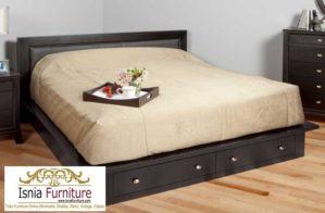 Tempat Tidur Laci Bawah Model Minimalis Modern Terbaru