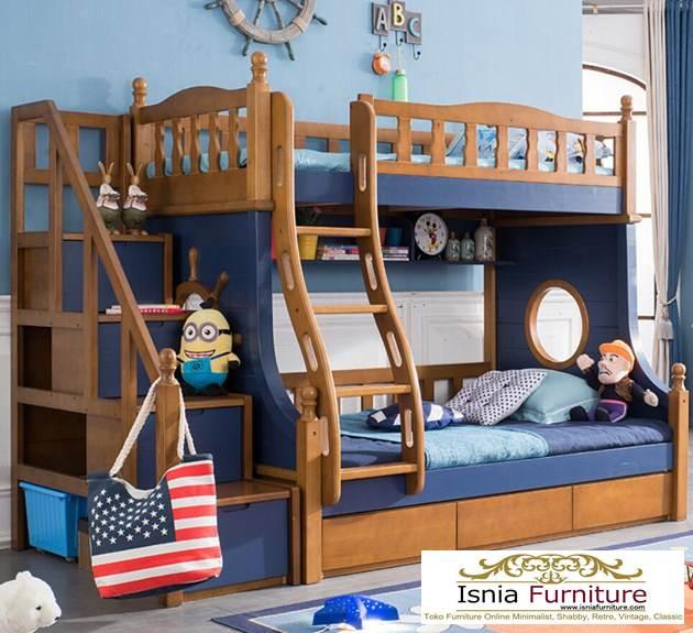 tempat-tidur-tingkat-kayu-minimalis Jual Tempat Tidur Tingkat Kayu Minimalis Untuk Anak Laki-laki