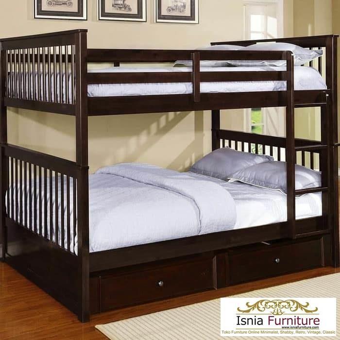 dipan-tidur-tingkat-kayu-jati-700x700 Dipan Tingkat Kayu Jati Modern Minimalis 2020 Untuk Anak
