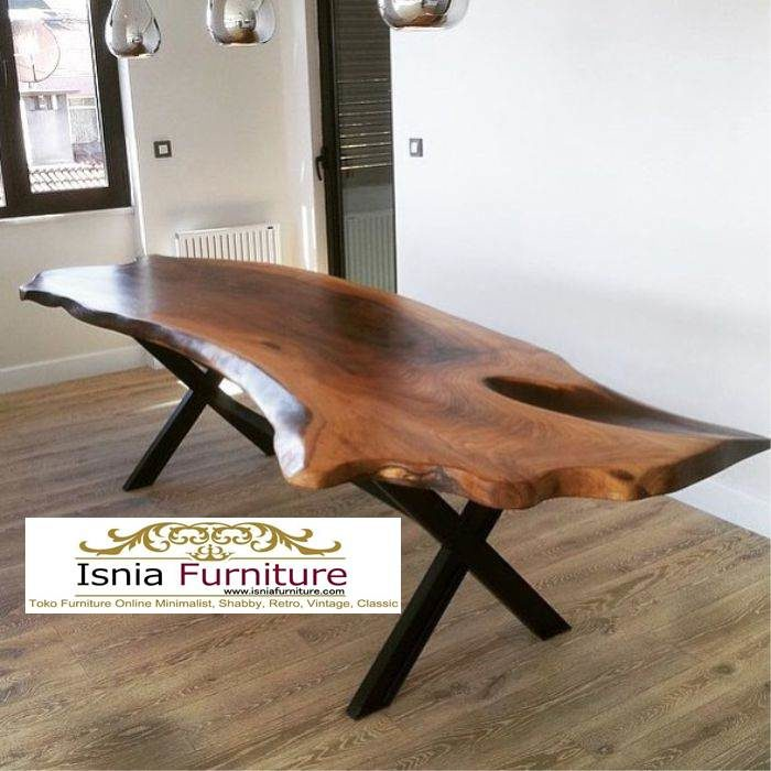 meja-makan-trembesi-modern-700x700 Meja Trembesi Kaki Besi Untuk Makan Sehari Hari Model Minimalis