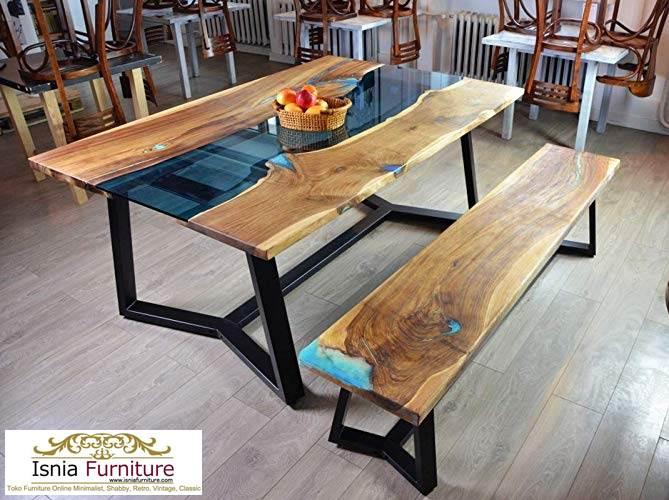 meja-trembesi-unik-kaki-besi Meja Trembesi Kaki Besi Untuk Makan Sehari Hari Model Minimalis