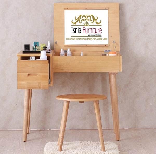 meja-rias-kayu-jati Jual Meja Rias Jati Belanda Model Minimalis Harga Murah