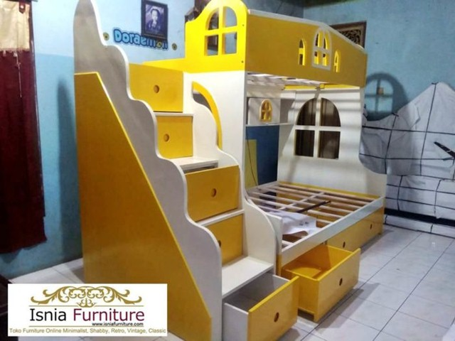ranjang-tingkat-kayu-murah-700x525 79 Model Ranjang Tempat Tidur Tingkat Kayu Minimalis Harga Murah