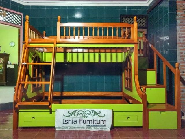 tempat-tidur-tingkat-kayu-harga-murah 79 Model Ranjang Tempat Tidur Tingkat Kayu Minimalis Harga Murah