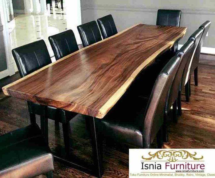 meja-makan-trembesi-kayu-utuh-700x580 Set Meja Makan Trembesi Solid 8 Kursi