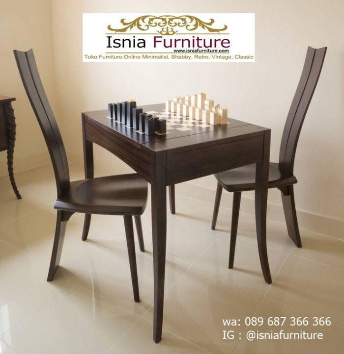 meja-papan-catur-jati-desain-2-kursi-unik-terbaru-700x722 Meja Papan Catur Kayu Jati Minimalis Solid Terlaris