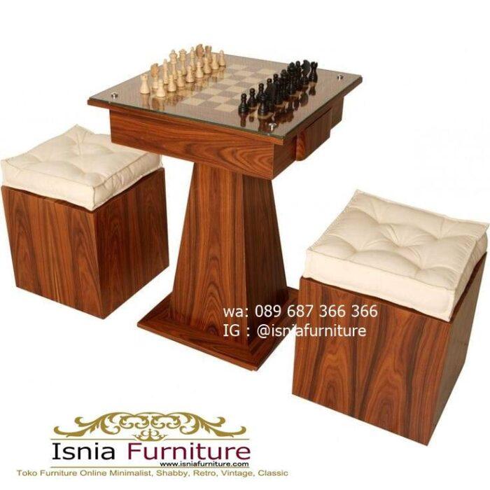 meja-papan-catur-jati-kualitas-terbaik-terlaris-700x700 Meja Papan Catur Kayu Jati Minimalis Solid Terlaris