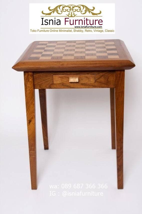 meja-papan-catur-jati-ter-unik Meja Papan Catur Kayu Jati Minimalis Solid Terlaris