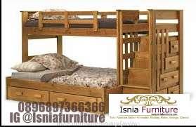tempat-tidur-murah Tempat Tidur Tingkat Kayu Jati