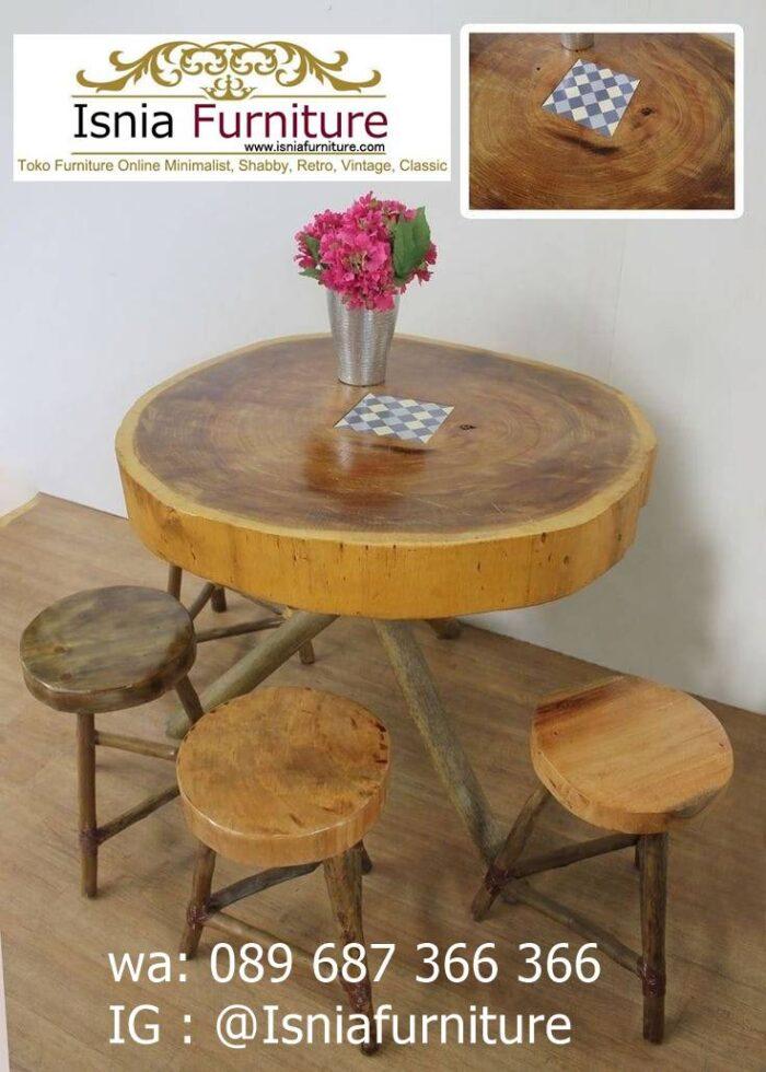 meja-bulat-kayu-trembesi-paling-unik-700x980 Meja Bulat Kayu Trembesi Unik