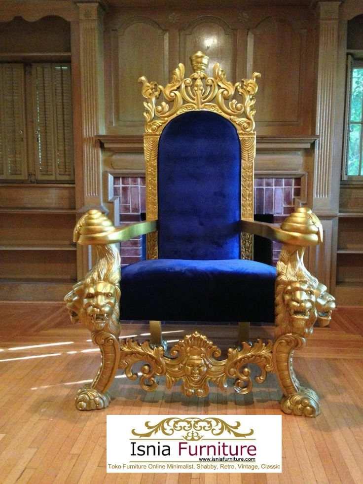 Kursi Raja Dan Ratu Minimalis Ukir