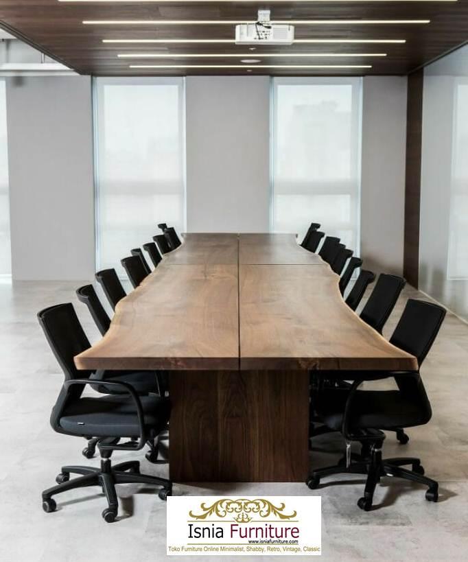 meja-rapat5-1 Meja Rapat Kayu Trembesi Solid