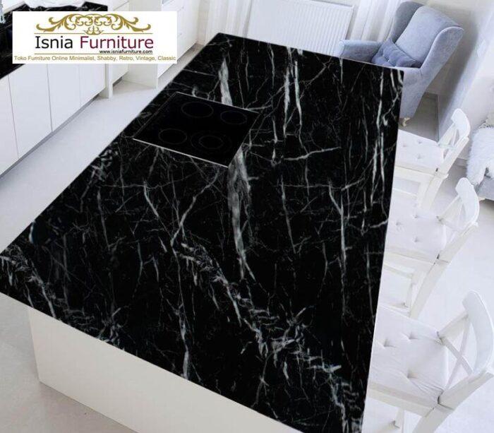 meja-marmer-hitam7-700x613 Harga Meja Marmer Hitam Murah Minimalis Terlaris