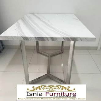 meja-marmer-putih2 Jual Meja Marmer Putih Model Minimalis Mewah Terlaris