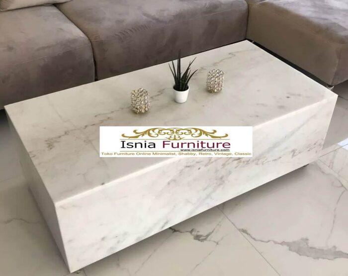 meja-marmer-putih4-700x555 Jual Meja Marmer Putih Model Minimalis Mewah Terlaris