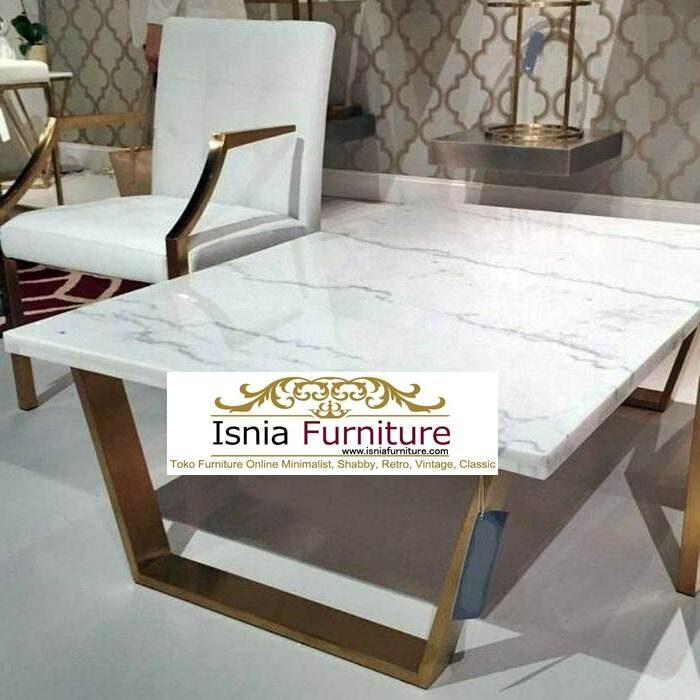 meja-marmer-putih7-700x700 Jual Meja Marmer Putih Model Minimalis Mewah Terlaris