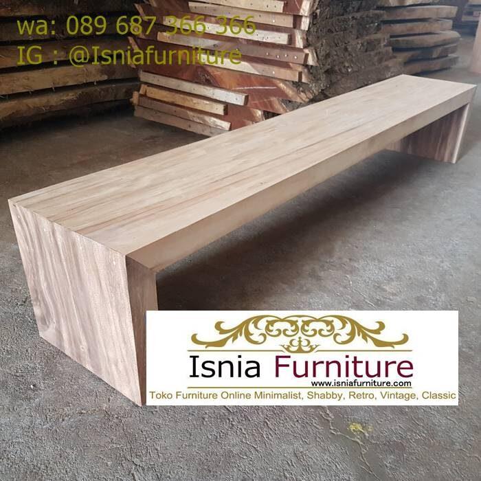kursi-bangku-balok-kayu-solid-terbaru-700x700 Jual Kursi Bangku Balok Kayu Solid Harga Murah