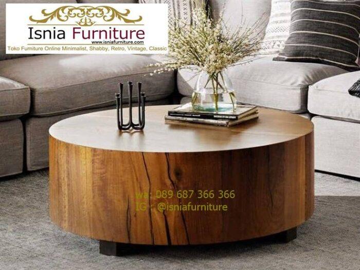 meja-balok-kayu-jati-bentuk-bulat-terlaris-700x526 Meja Balok Kayu Jati