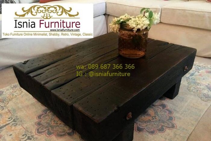 meja-balok-kayu-jati-desain-finishing-warna-hitam-700x467 Meja Balok Kayu Jati