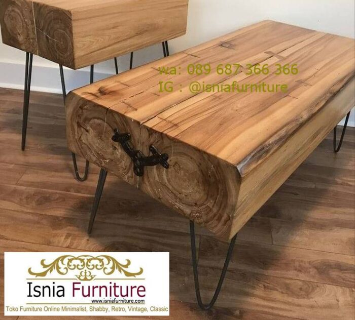 meja-balok-kayu-jati-desain-kaki-besi-700x632 Meja Balok Kayu Jati