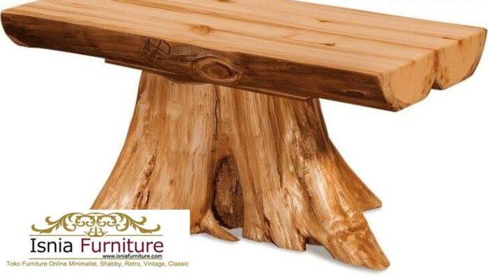 meja-balok-kayu-jati-gelondongan-desain-model-akar-700x396 Meja Balok Kayu Jati