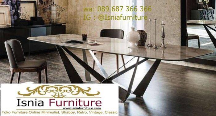 meja-makan-marmer-desain-kaki-stainless-termurah-700x378 Kaki Meja Makan Marmer Minimalis Harga Murah Terbaru