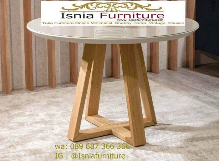 meja-marmer-bulat-bundar-kaki-kayu-terunik-700x514 Kaki Meja Marmer Bulat Bundar Paling Terbaru Murah