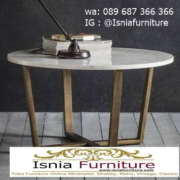 meja-marmer-bundar-kaki-stainless-unik Harga Meja Marmer Bundar Murah Kualitas Terbaik