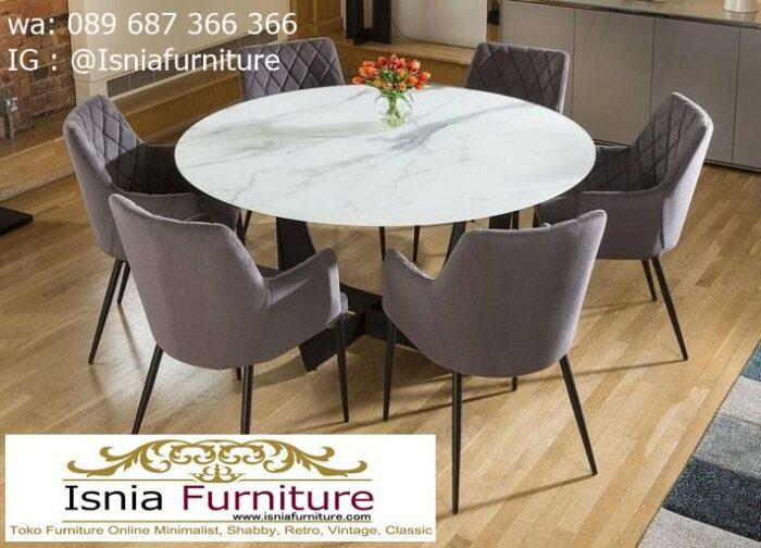 meja-marmer-bundar-untuk-meja-makan-paling-unik-700x504 Harga Meja Marmer Bundar Murah Kualitas Terbaik