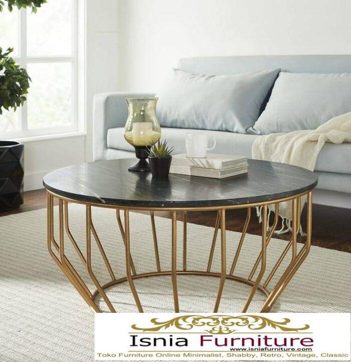 meja-marmer-bundar-untuk-ruaangan-tamu-kaki-stainless-700x723 Harga Meja Marmer Bundar Murah Kualitas Terbaik