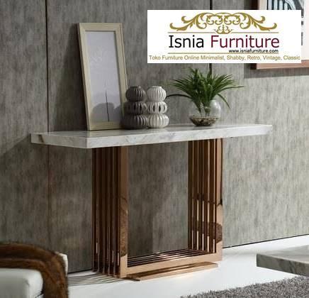 meja-marmer-kecil-untuk-meja-konsol-desain-unik-minimalis-1 Model Meja Marmer Ruang Tamu Harga Murah Berkualitas