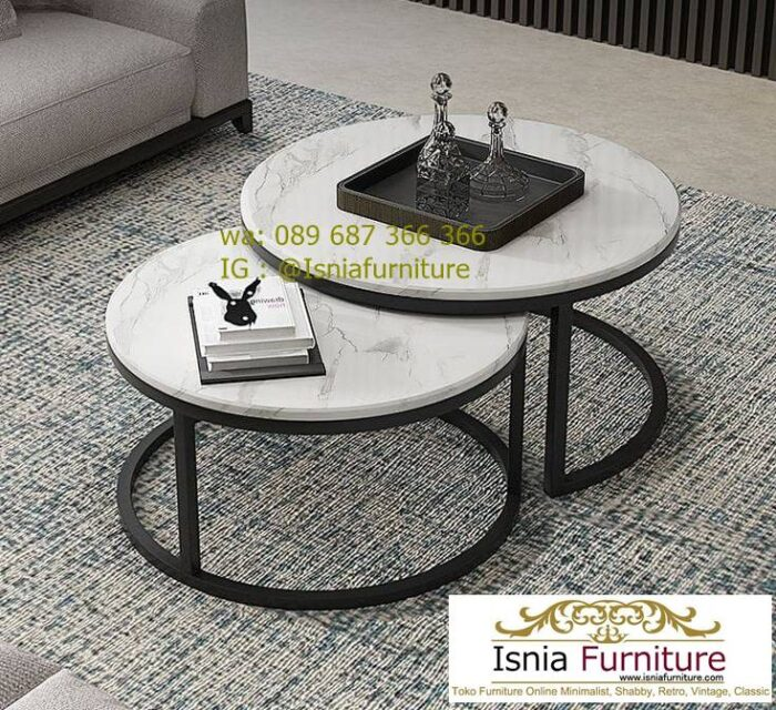 meja-tamu-marmer-minimalis-kaki-besi-700x640 Jual Meja Tamu Marmer Minimalis Modern Harga Murah