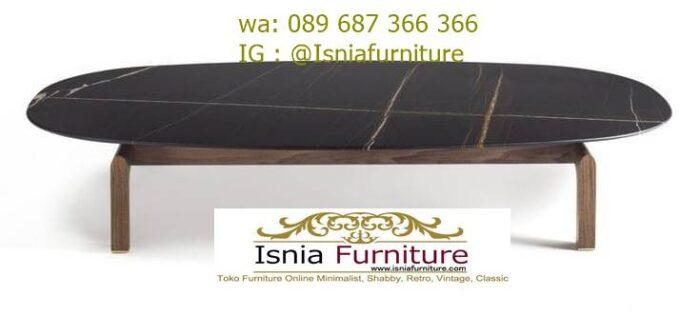 meja-tamu-marmer-minimalis-marmer-hitam-kaki-kayu-700x316 Jual Meja Tamu Marmer Minimalis Modern Harga Murah