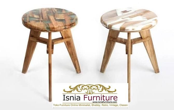 kursi-resin-bentuk-unik-minimalis-kayu-solid Jual Kursi Resin Kayu Balok Harga Murah Terbaru