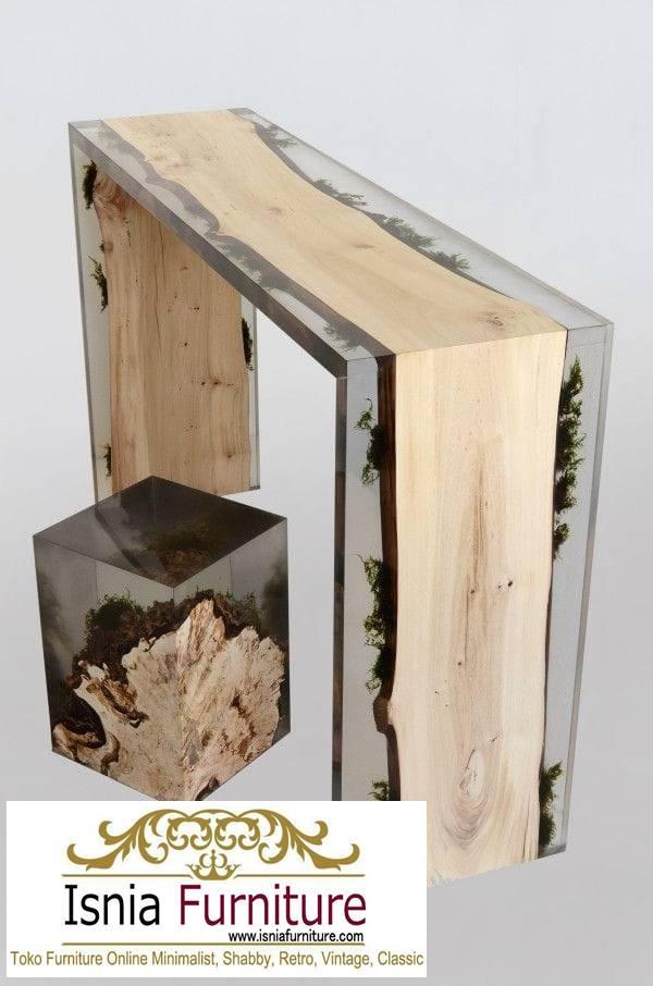 kursi-resin-kayu-balok-minimalis-solid-unik Jual Kursi Resin Kayu Balok Harga Murah Terbaru