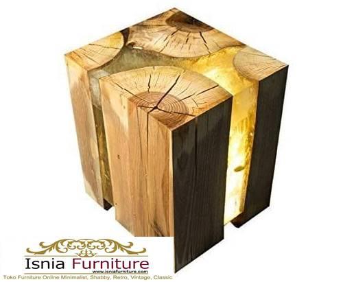 kursi-resin-kayu-balok-solid-minimalis Jual Kursi Resin Kayu Balok Harga Murah Terbaru