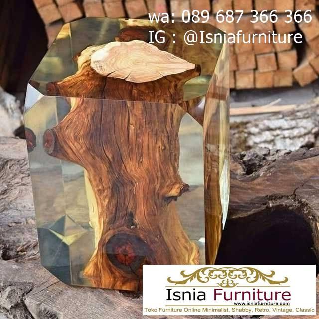 kursi-resin-kayu-solid-bentuk-balok-terpopuler Jual Kursi Resin Kayu Balok Harga Murah Terbaru